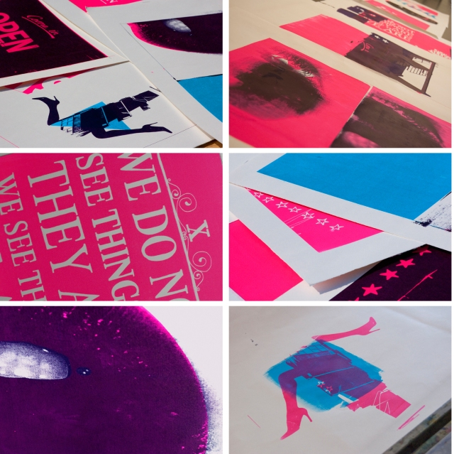 Finn O'Brien Illustration screen printing