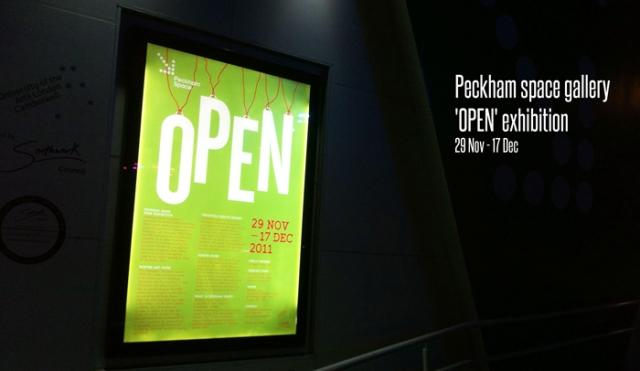 Peckham open exhibition Finn O'Brien